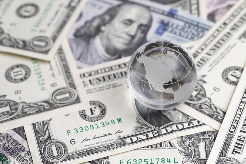 De financieel antiglobalisering van Verenigde Staten of centrum van wereld de EG royalty-vrije stock afbeeldingen