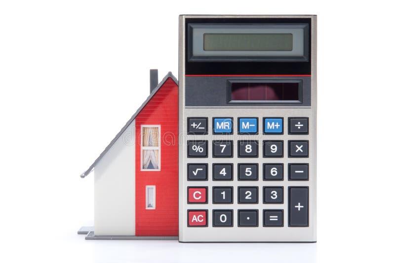 De financiering van het huis stock afbeelding