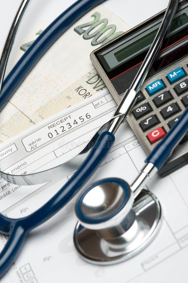 De financieringsconcept van de gezondheid royalty-vrije stock afbeeldingen