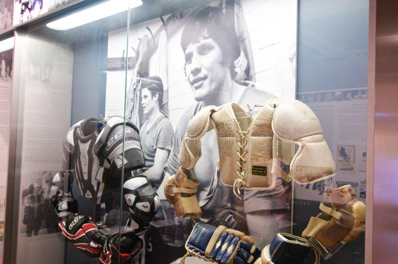 De finse Zaal van het Hockey van Bekendheid royalty-vrije stock afbeeldingen