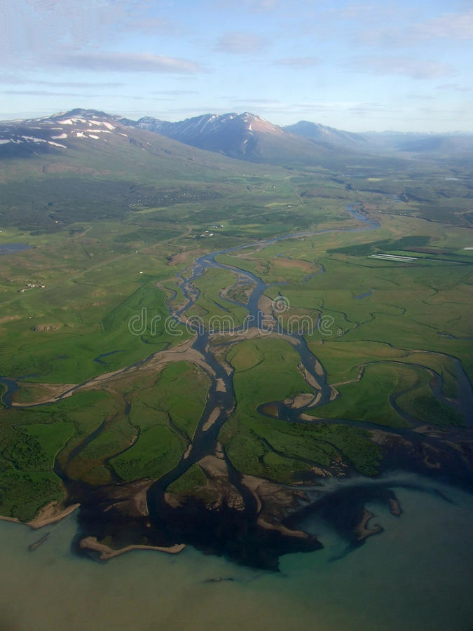 De fjorden van het westen royalty-vrije stock afbeelding