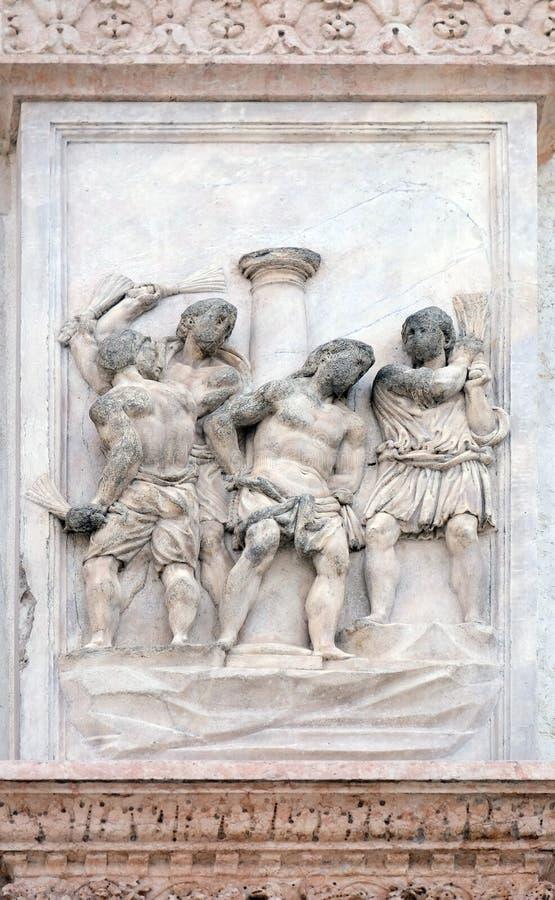De Flagellatie van Christus royalty-vrije stock fotografie