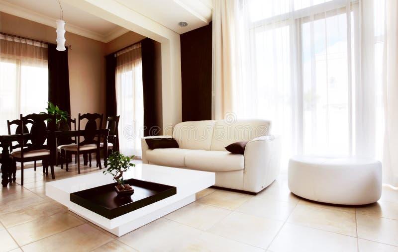 De flat van de luxe royalty-vrije stock afbeeldingen