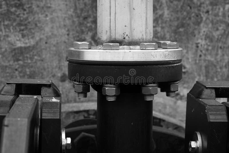De Flens van leidingen stock foto's