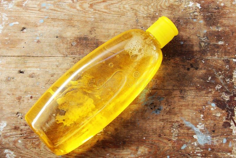 De fles van de babyshampoo royalty-vrije stock afbeeldingen