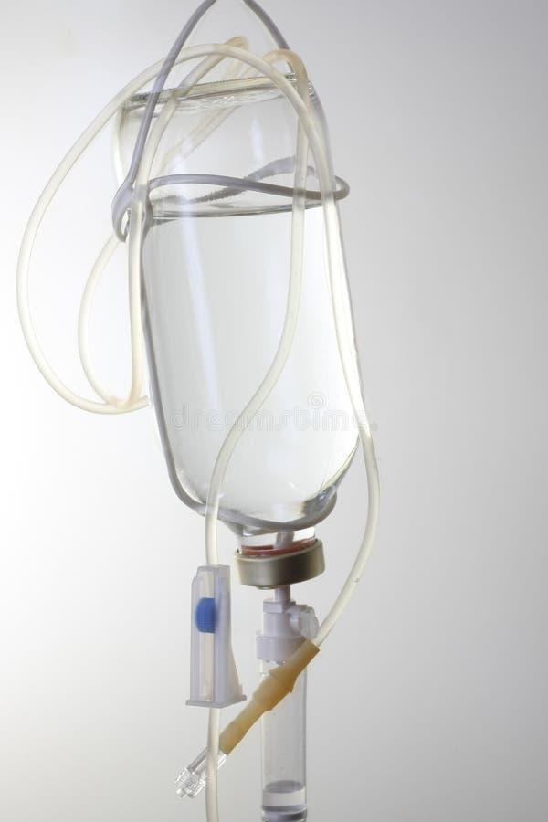 De fles van de infusie royalty-vrije stock foto's