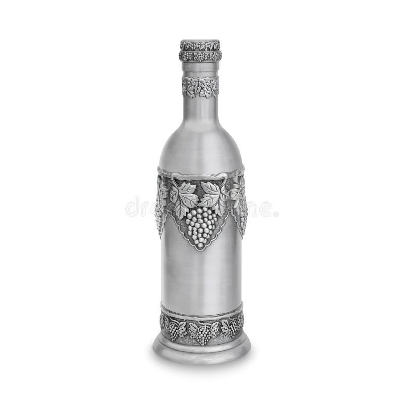 De fles van de Sabbat wijn stock foto