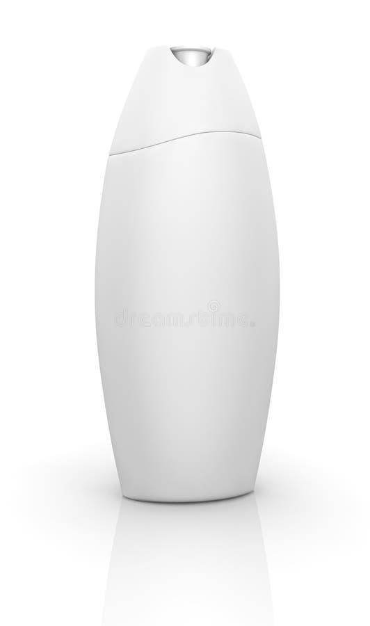 De fles van de shampoo stock illustratie