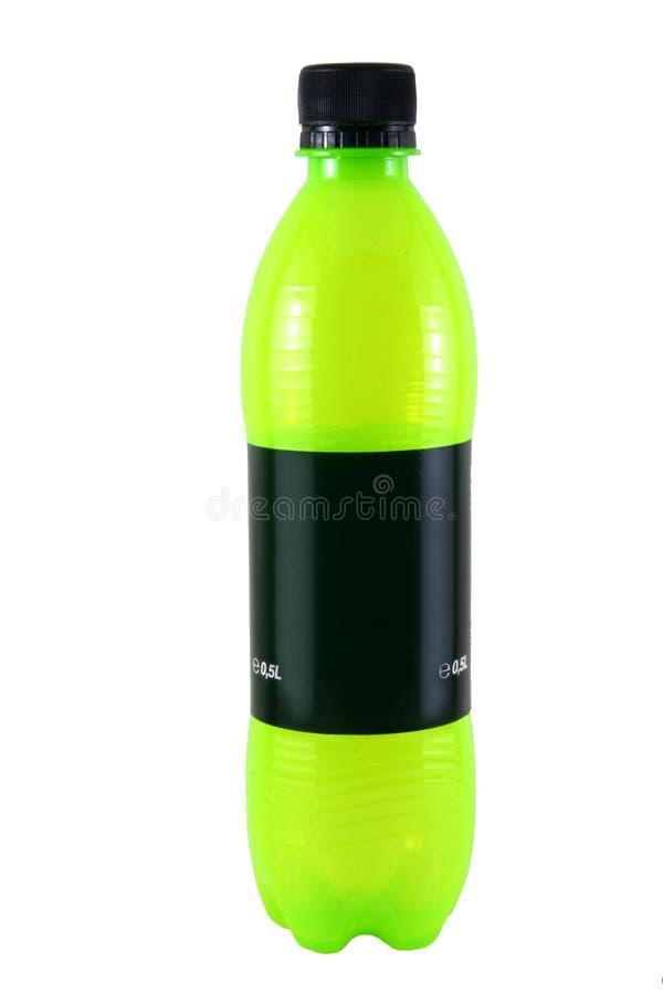 De fles van de soda stock afbeeldingen
