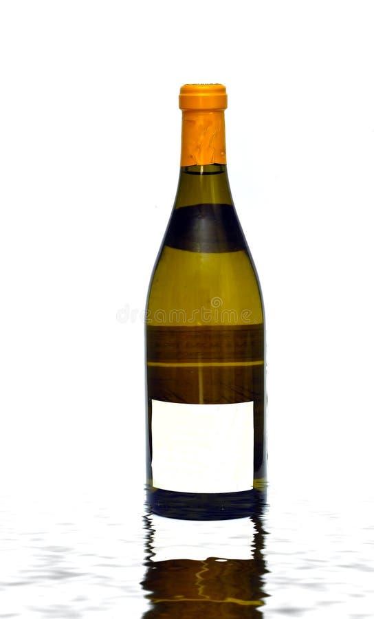 Wijnfles stock fotografie