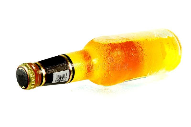 De Fles van het bier stock fotografie