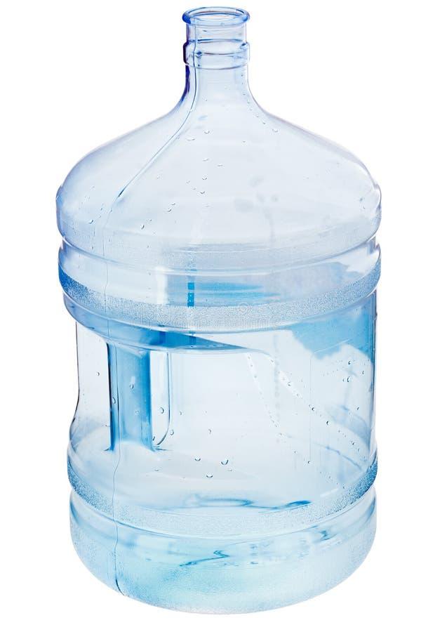 5 de fles van het gallonwater stock afbeelding