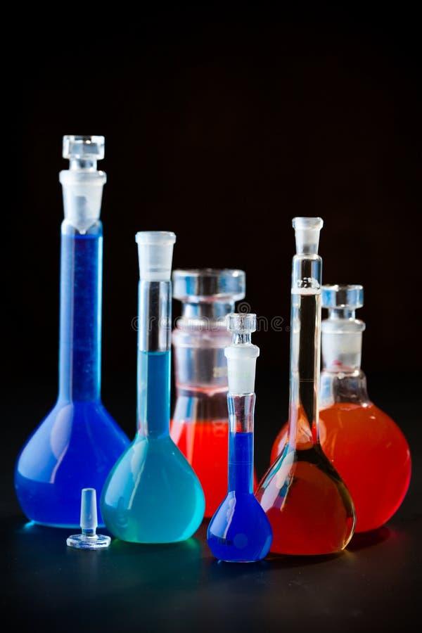 De fles van het laboratorium royalty-vrije stock afbeelding
