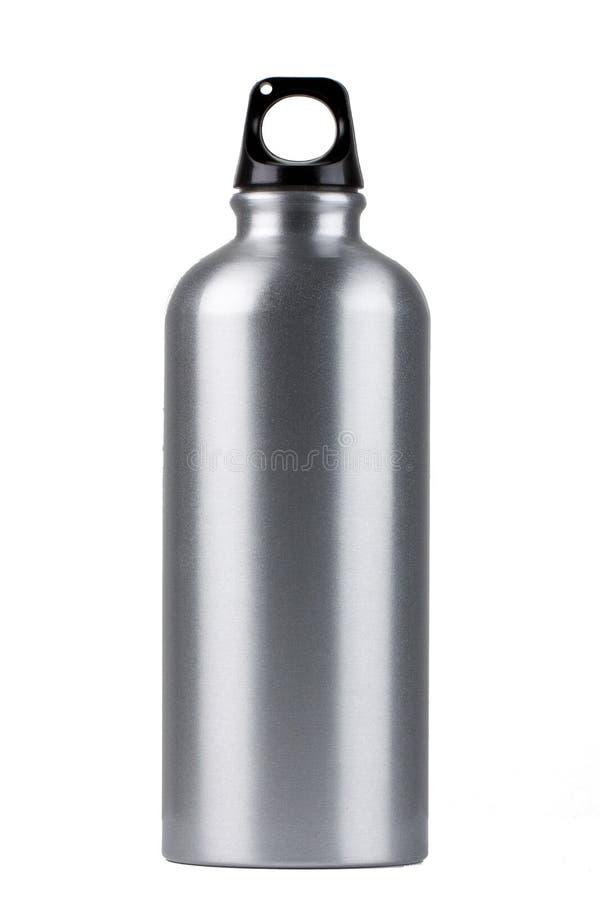 De fles van het metaal royalty-vrije stock afbeelding