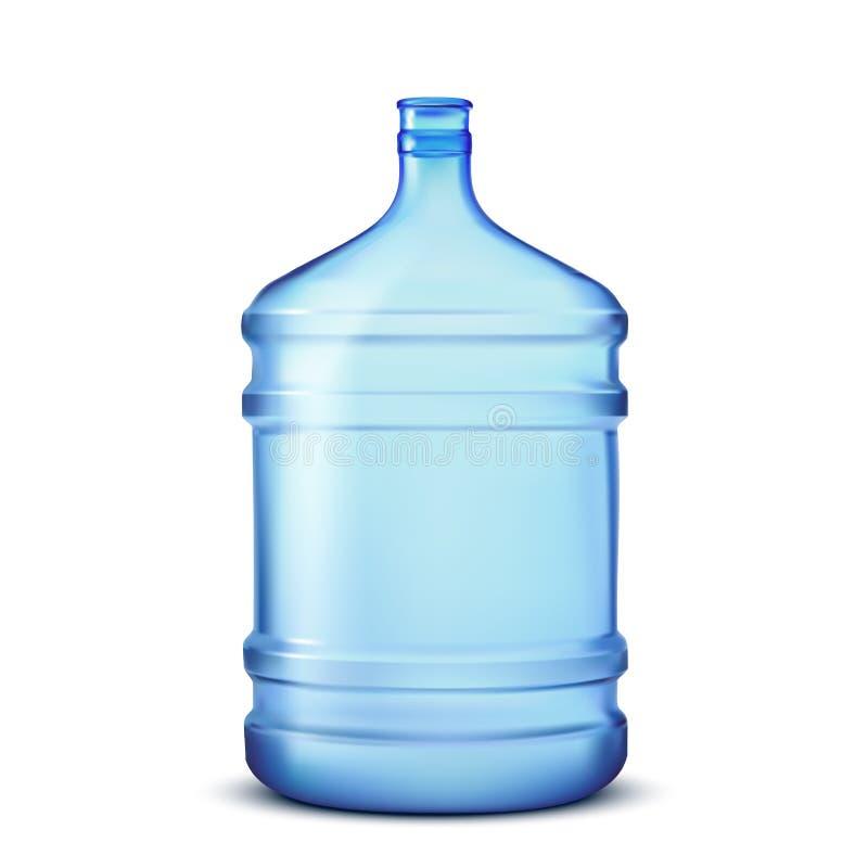 De fles van het water vector illustratie