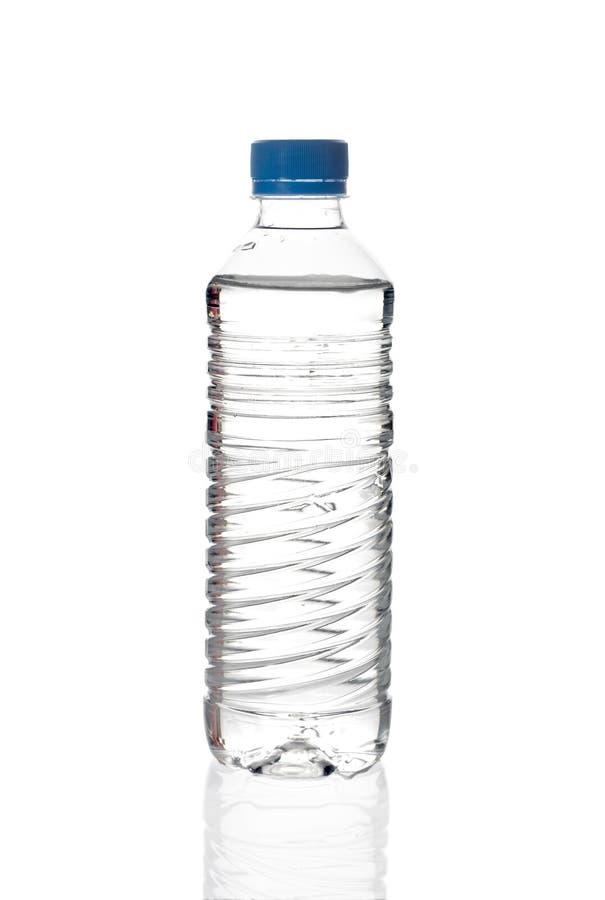 De fles van het water stock foto
