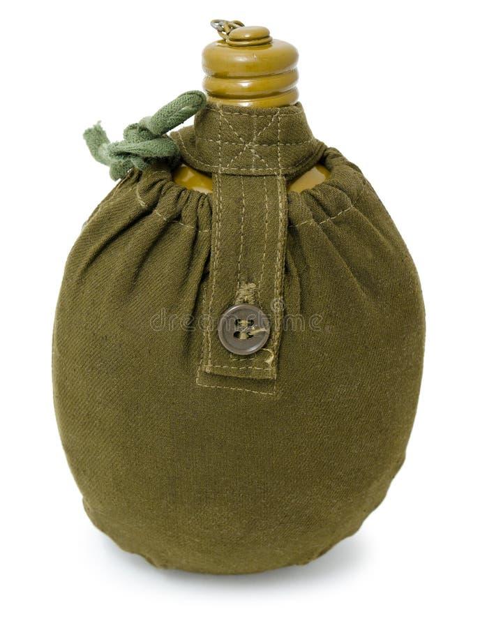 De fles van militairen royalty-vrije stock afbeelding