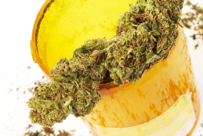 De Fles van Rx van de voorschriftmarihuana stock afbeelding