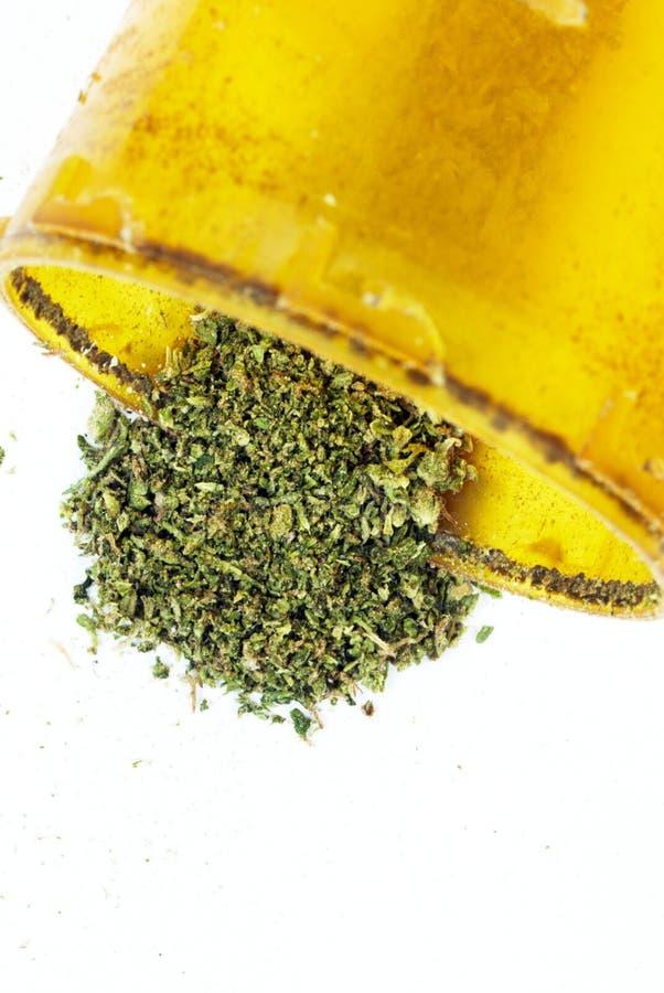 De Fles van Rx van de voorschriftmarihuana stock afbeeldingen