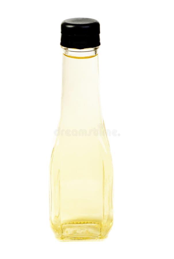 De flessen van de azijn stock afbeelding