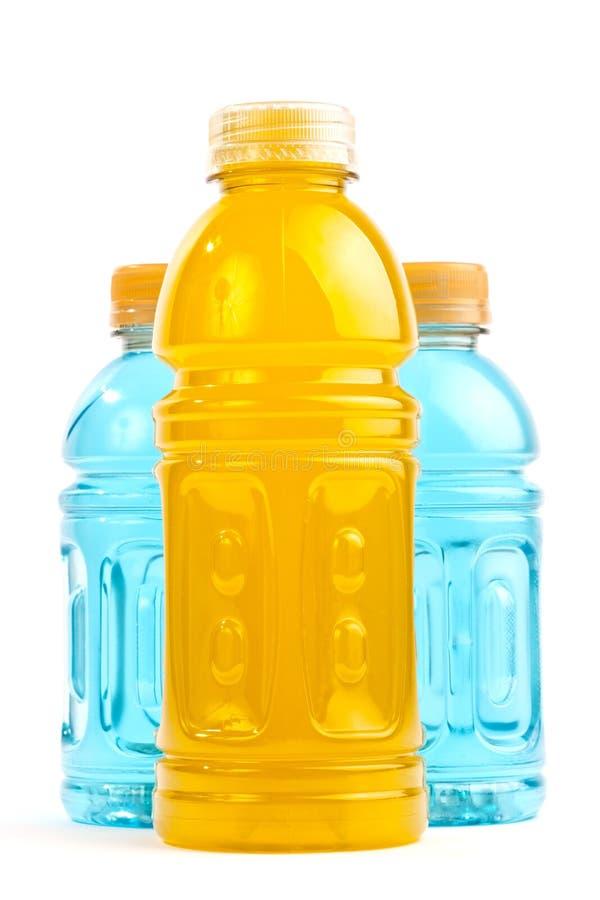 De flessen van de Drank van de energie stock foto