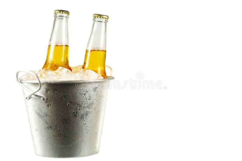 De Flessen van het bier stock fotografie