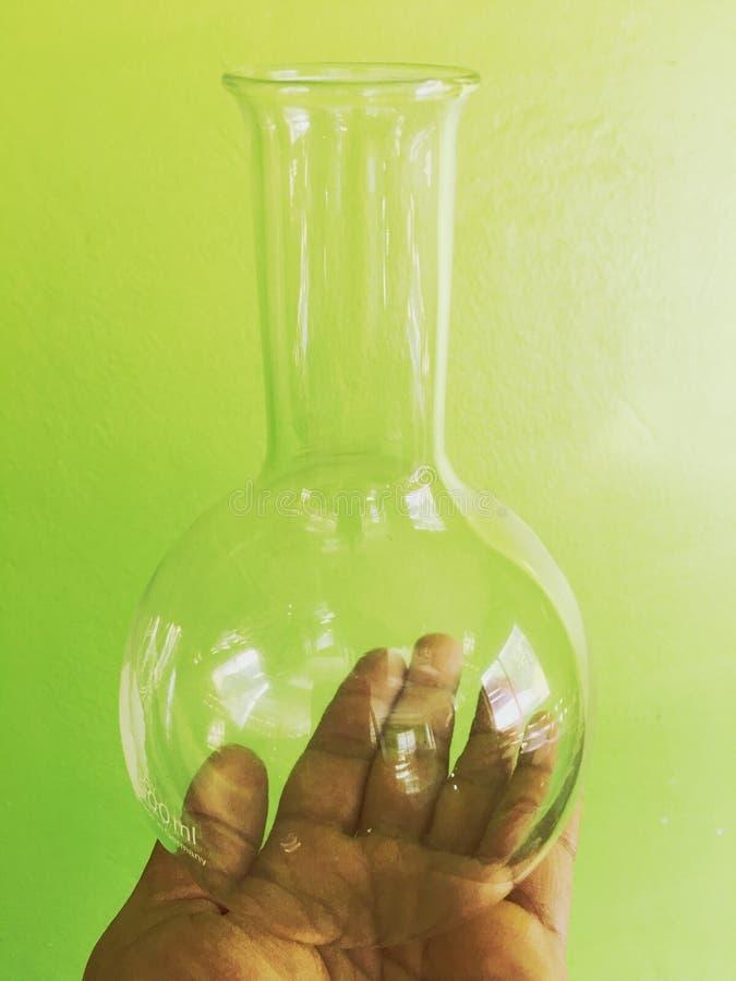 De flessen van het glas stock fotografie