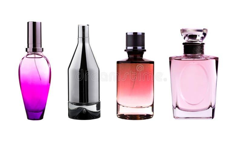 De flessen van het parfum stock foto