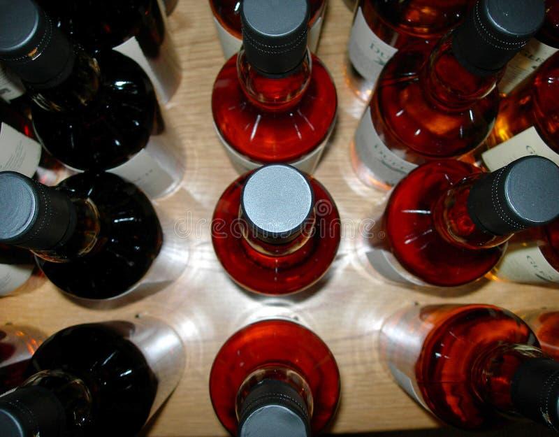 De flessen whisky royalty-vrije stock foto
