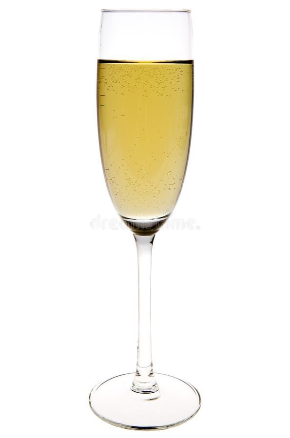 De fluit van Champagne stock afbeelding