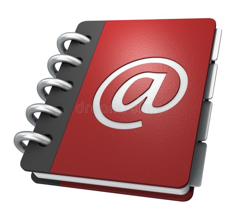 De folder van Internet royalty-vrije illustratie