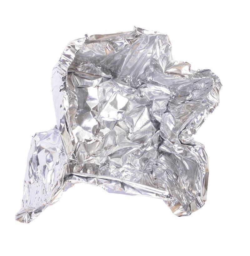 Download De folie van het aluminium stock foto. Afbeelding bestaande uit gescheurd - 24587824