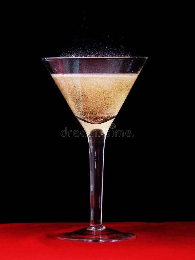 De Fonkeling van Champagne stock foto