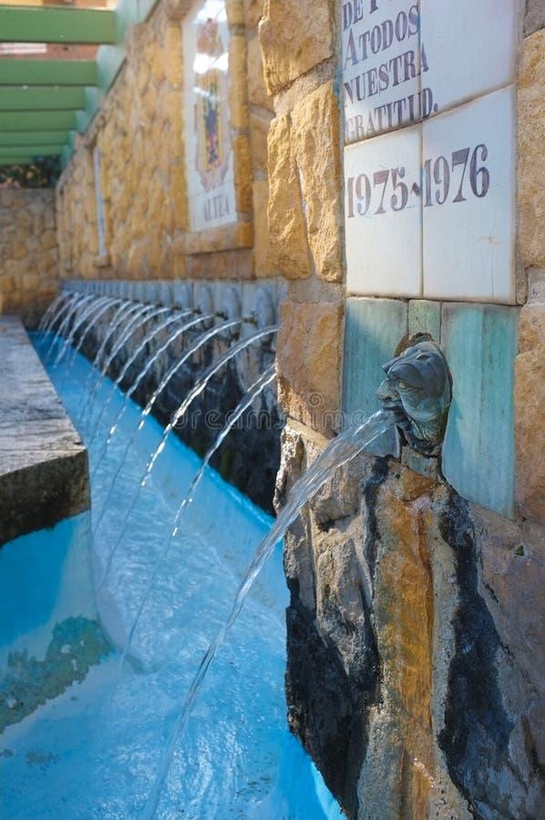 De fontein van het oriëntatiepunt