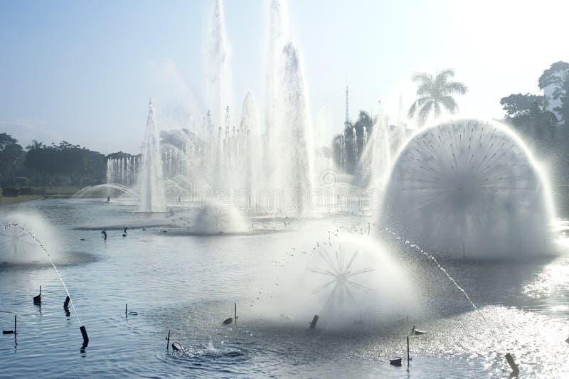De fontein van Manilla stock foto