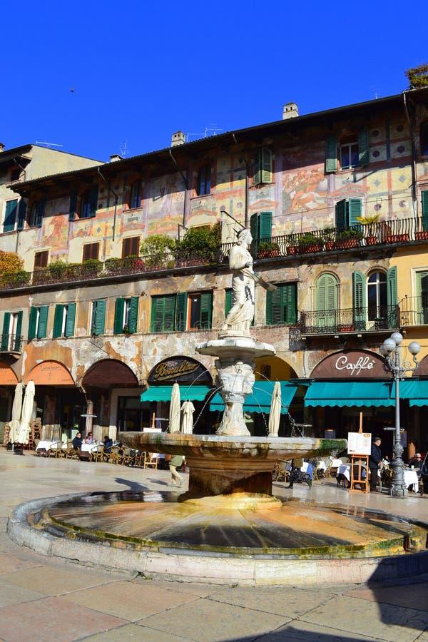 De fontein van Verona royalty-vrije stock foto's