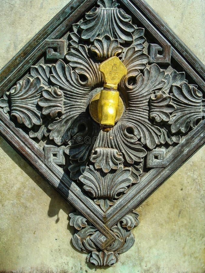De Fonteinkraan stock afbeeldingen