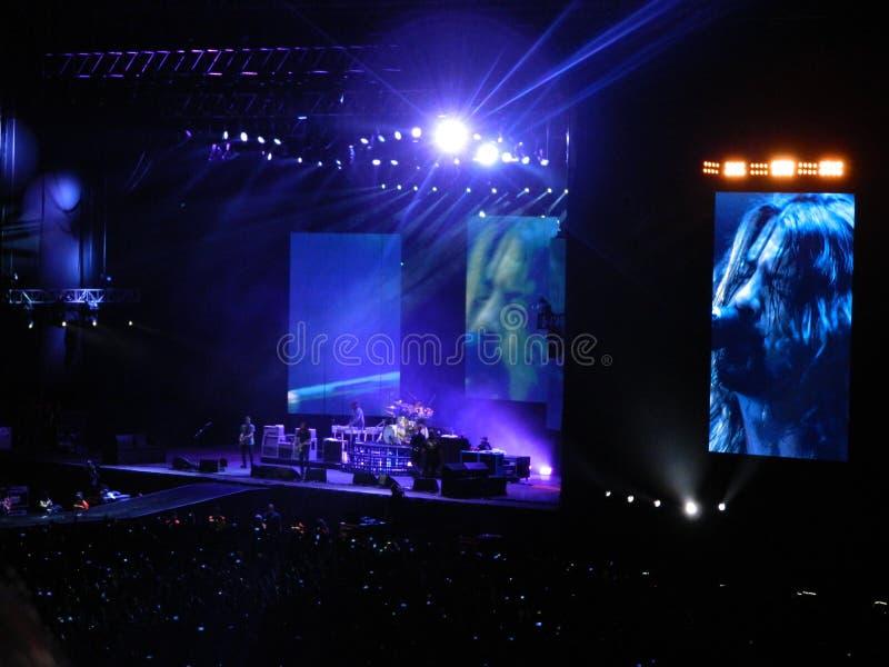¡de Foo Fighters Bogotà fotografía de archivo