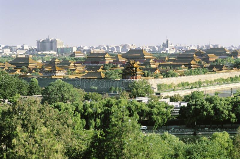 De Forbiden Stad, Peking royalty-vrije stock foto's