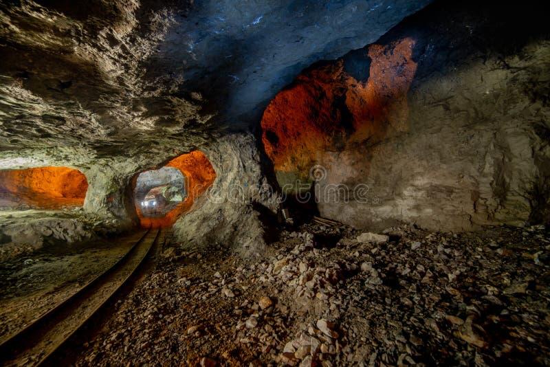 De forntida minerna royaltyfri foto