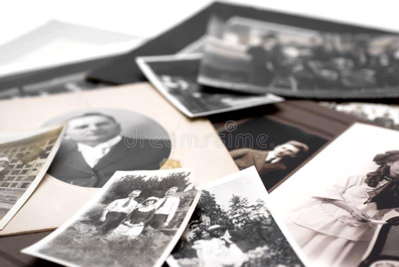 De Foto's van de familie stock foto's