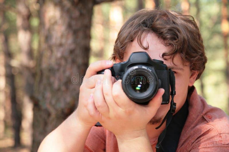 De foto's van de fotograaf royalty-vrije stock afbeeldingen