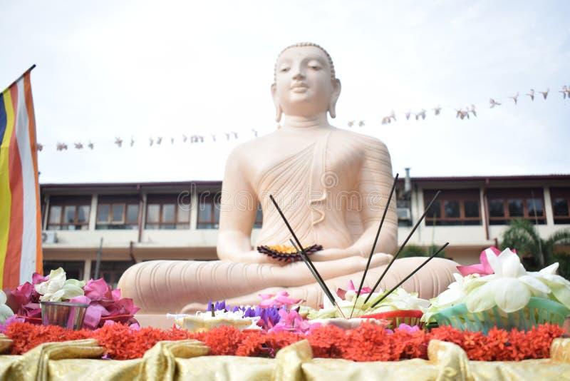 De foto's van het Lordboedha standbeeld royalty-vrije stock foto