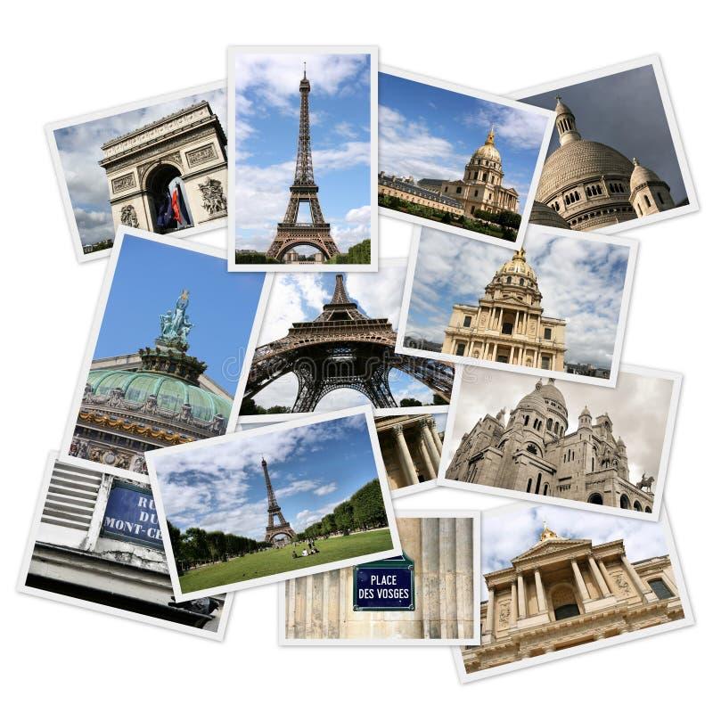 De foto's van Parijs stock afbeelding