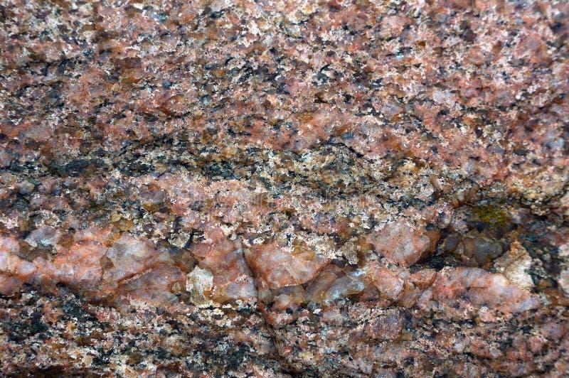De foto van de close-up van granitsteen stock afbeelding