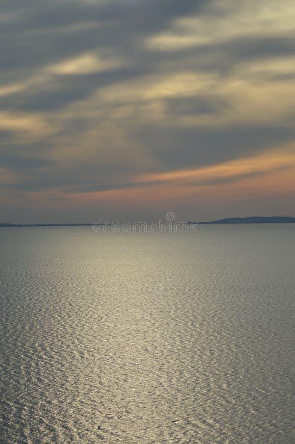 De foto van Hongarije Balaton stock afbeelding