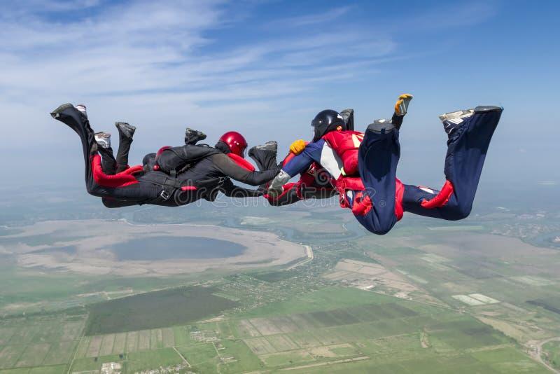 De foto van Skydiving stock fotografie