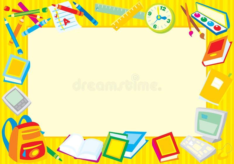 De fotoframe van de school
