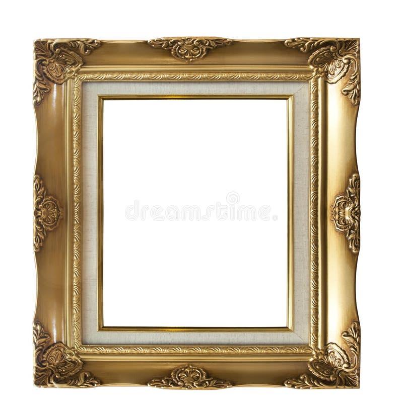De fotoframe van Golder stock afbeeldingen