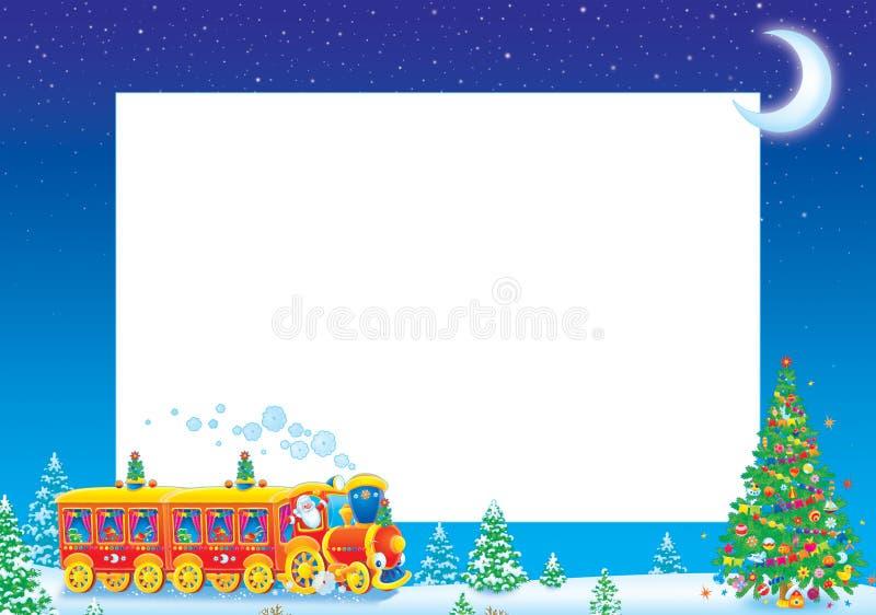 De fotoframe van Kerstmis